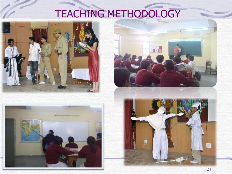 TEACHING METHODOLOGY 21