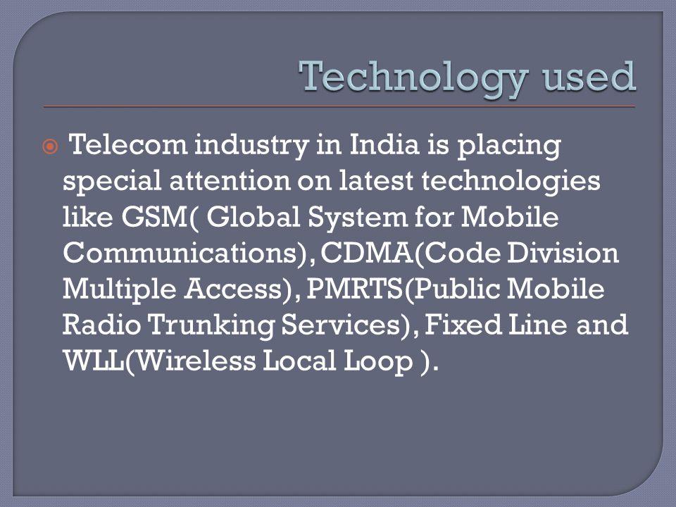  Telecom Regulatory Authority of India (TRAI)  Department of Telecommunications
