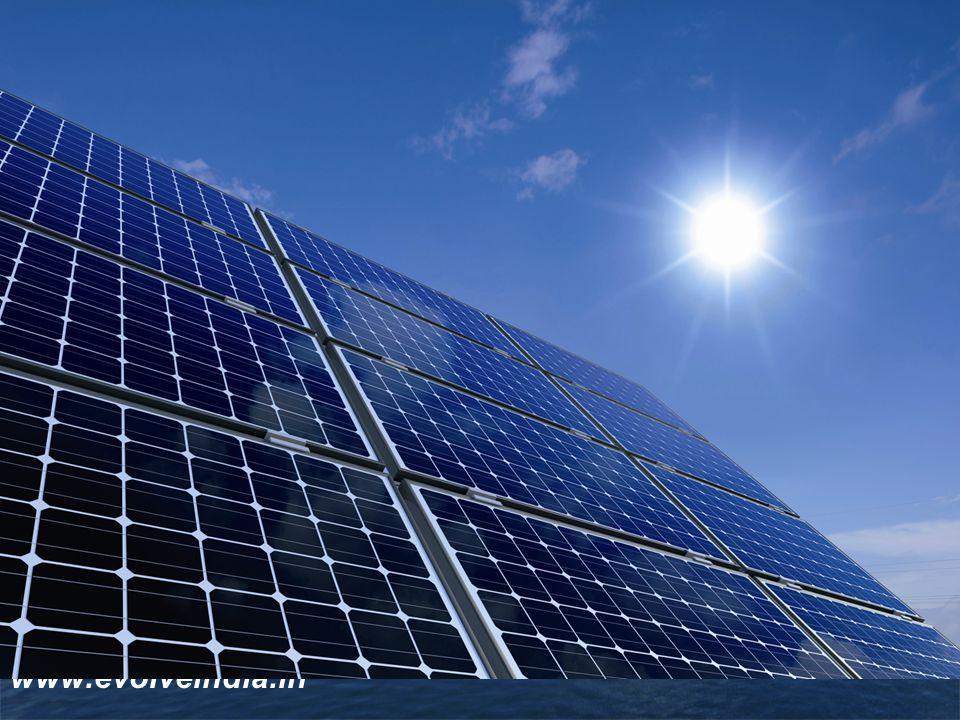 LOGO EVOLVE INDIA SOLAR SOLAR FINANCE SOLAR B.O.O.T Model The new age renewable company www.evolveindia.in