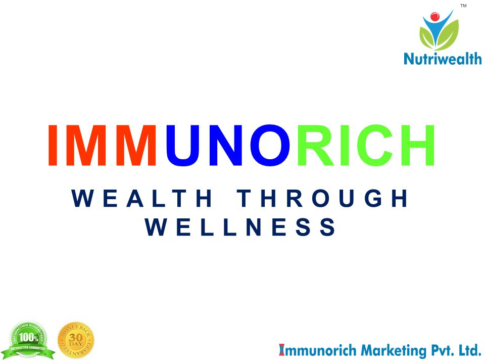 IMMUNORICH WEALTH THROUGH WELLNESS