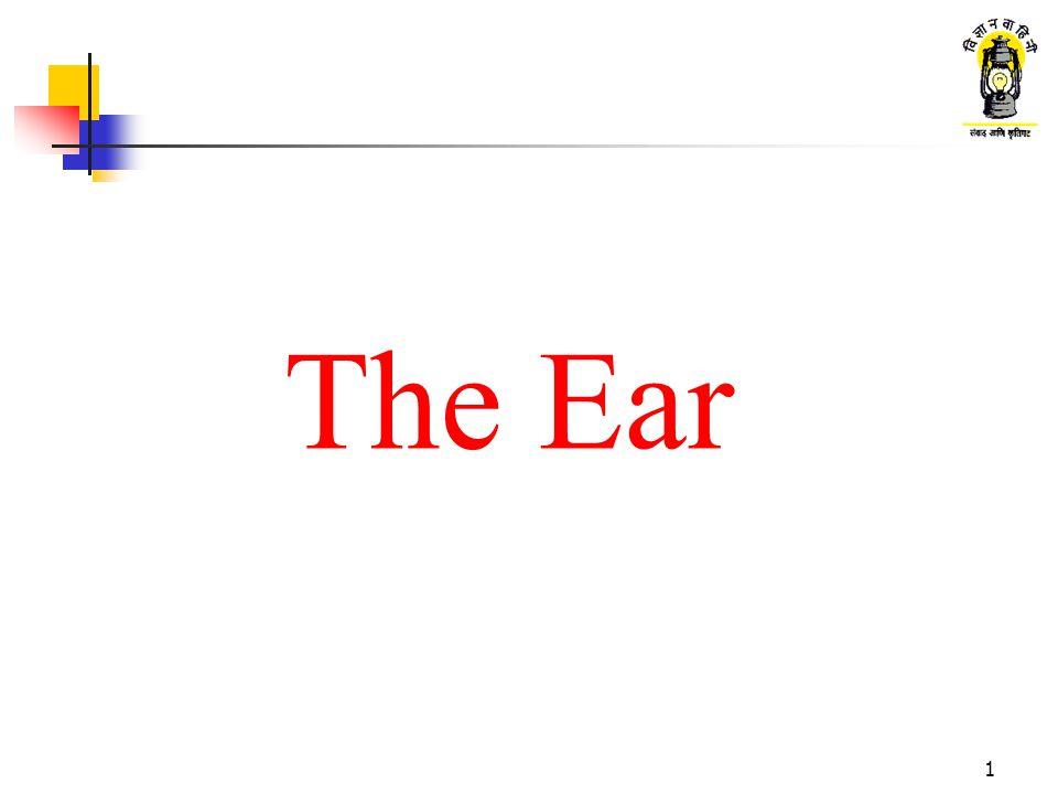 1 The Ear