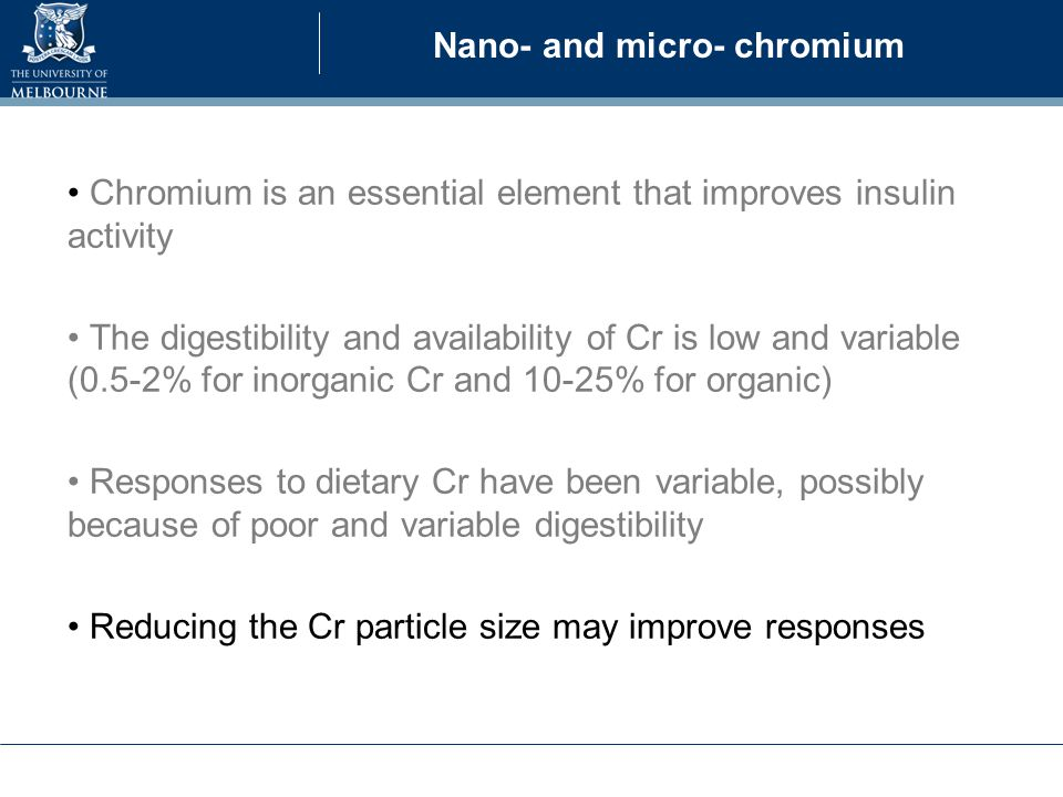 Dietary Cr increases ADG but the response is variable (31 studies) Sales and Jancik 2011