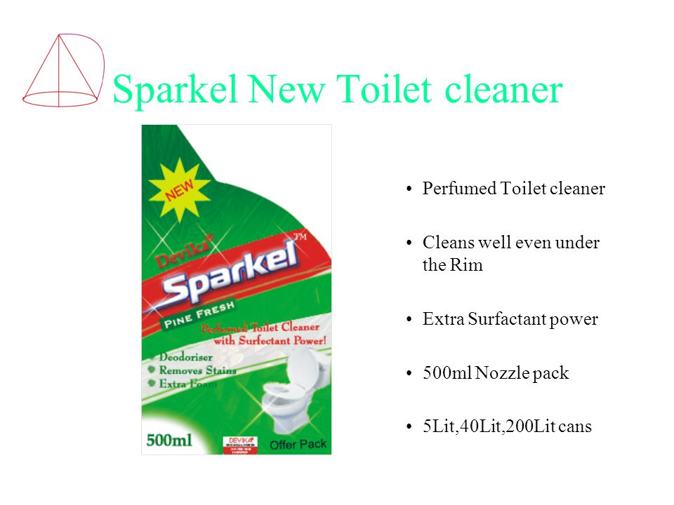 Sparkel New Toilet cleaner Perfumed Toilet cleaner Cleans well even under the Rim Extra Surfactant power 500ml Nozzle pack 5Lit,40Lit,200Lit cans