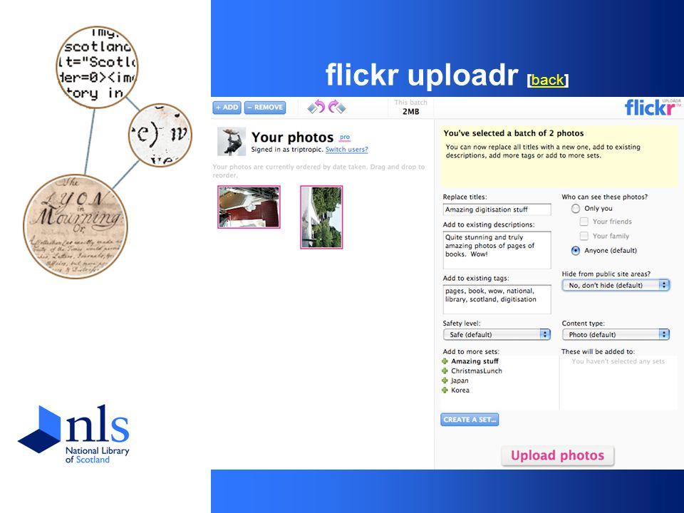 flickr uploadr [back]back