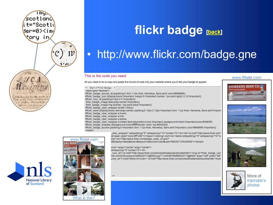 flickr badge [back]back http://www.flickr.com/badge.gne