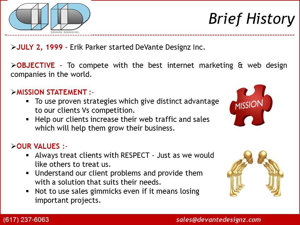 Partial Client List (617) 237-6063 sales@devantedesignz.com