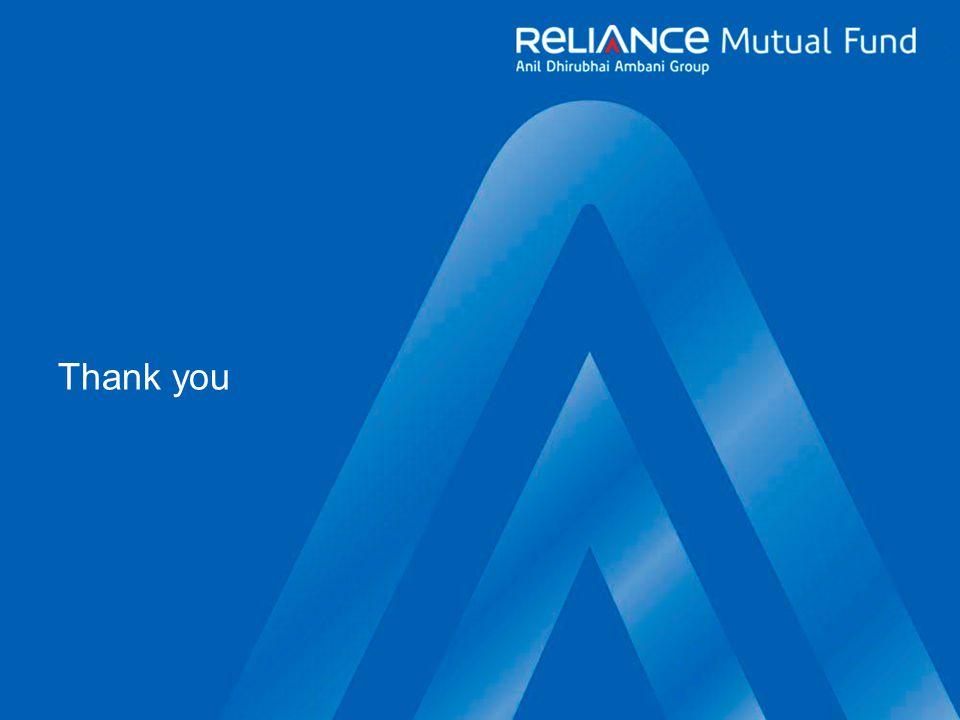 A Reliance Capital company Thank you