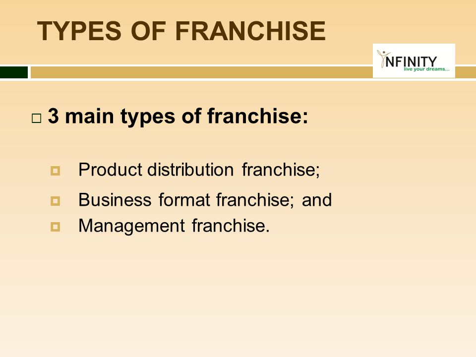 WHY FRANCHISE.