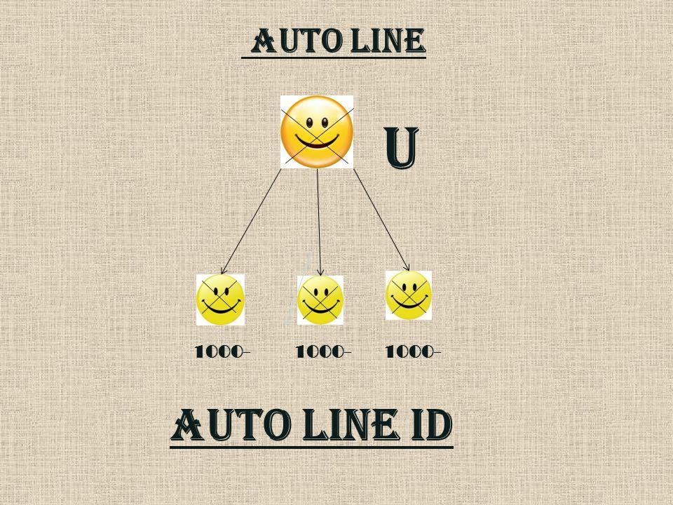 AUTO LINE 1000- AUTO LINE id U 1000-