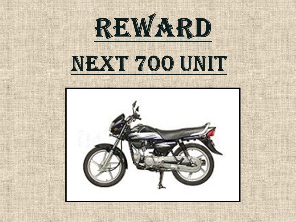 REWARD Next 700 unit