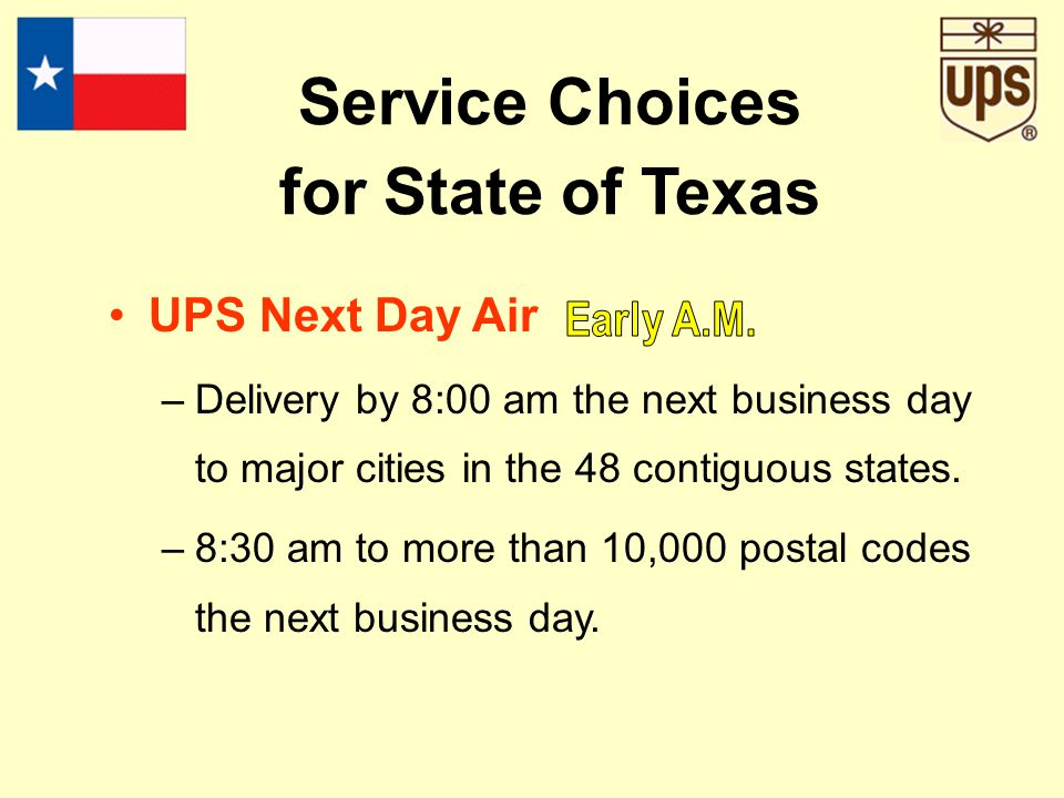 United Parcel Service Founded 1907. Forbes Magazine 2000 Company of the Year. America's most admired package delivery company the last 17 years- Fortu