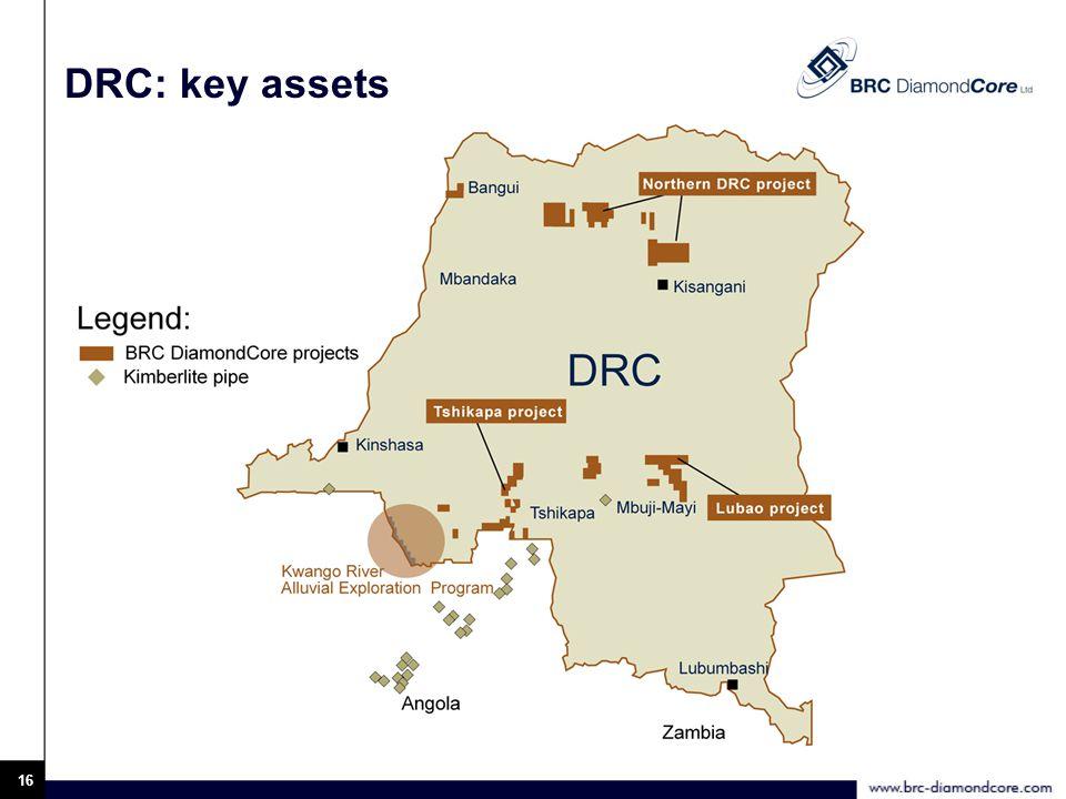 16 DRC: key assets