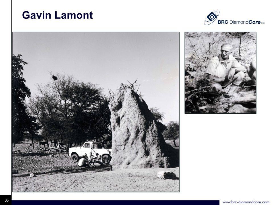 Gavin Lamont 36