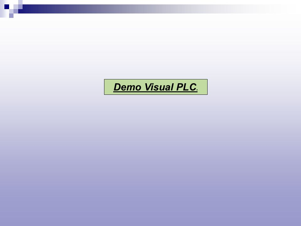 Demo Visual PLC.