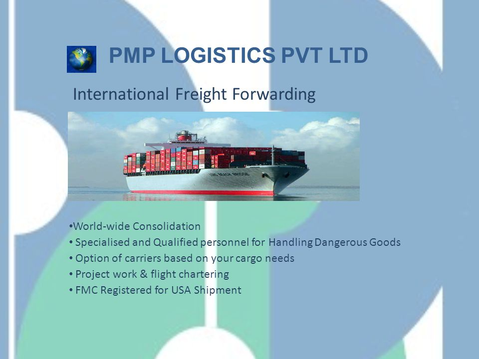 Flexitank PMP LOGISTICS PVT LTD Significantly Lower Cost.