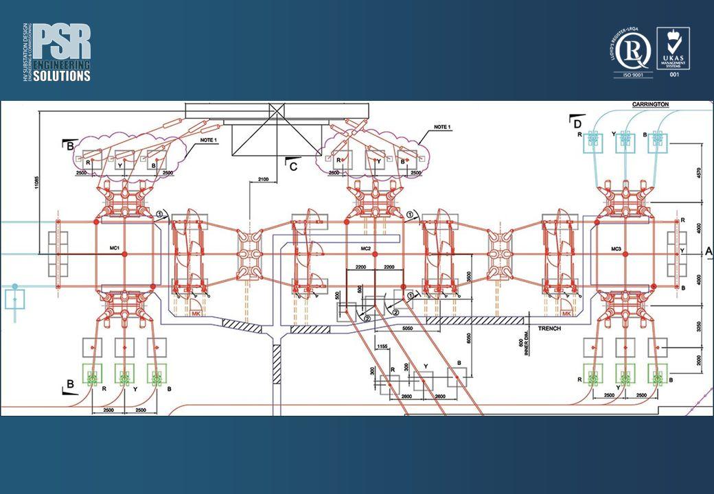 SIEMENS – UNITED KINGDOM LEICESTER 132/33kV SUBSTATION basic design for 16 feeders 132kV and interface to 33kV.