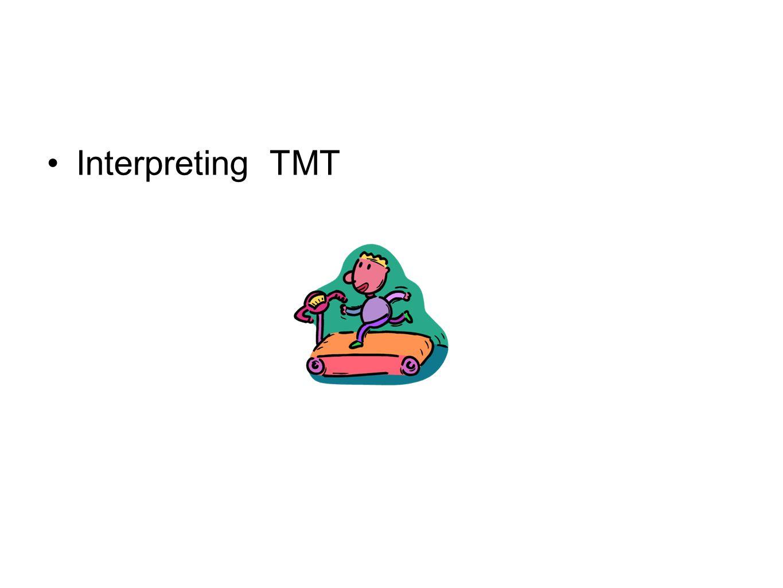 Interpreting TMT