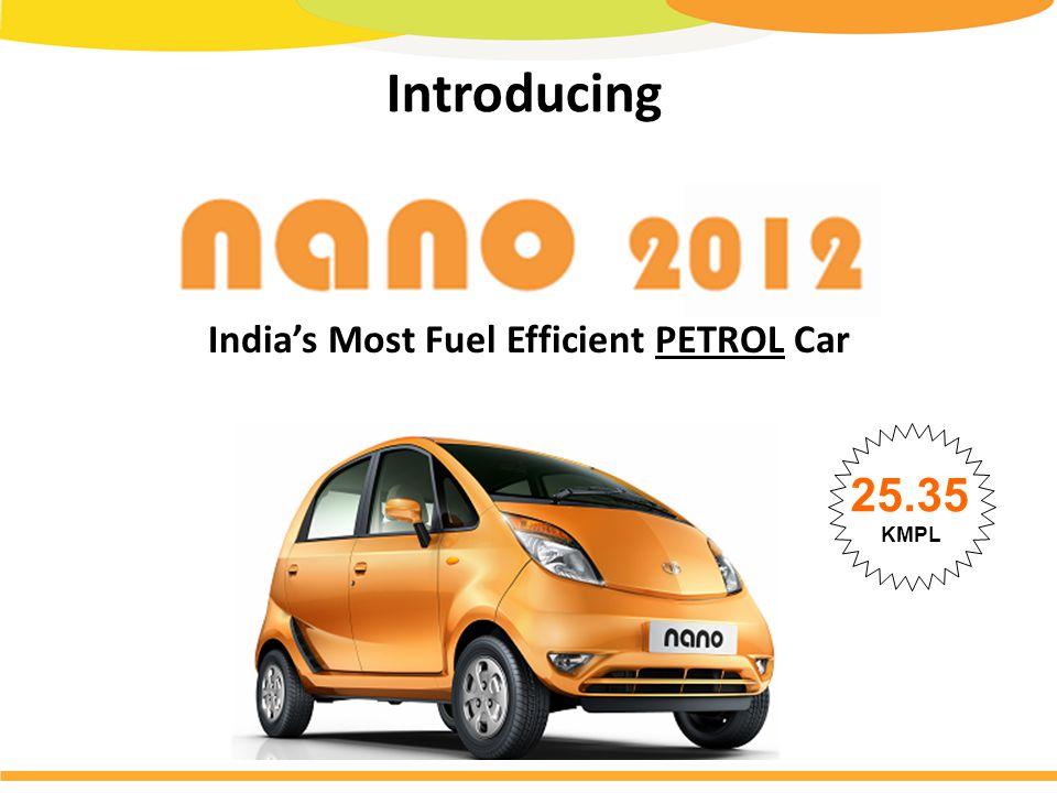 Introducing India's Most Fuel Efficient PETROL Car 25.35 KMPL