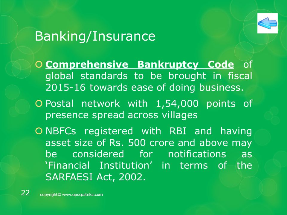 Banking/Insurance  An autonomous Bank Board Bureau to be set up to improve the governance of public sector bank.