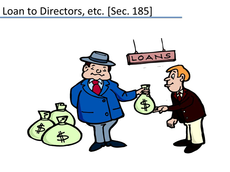 Loan to Directors, etc. [Sec. 185]