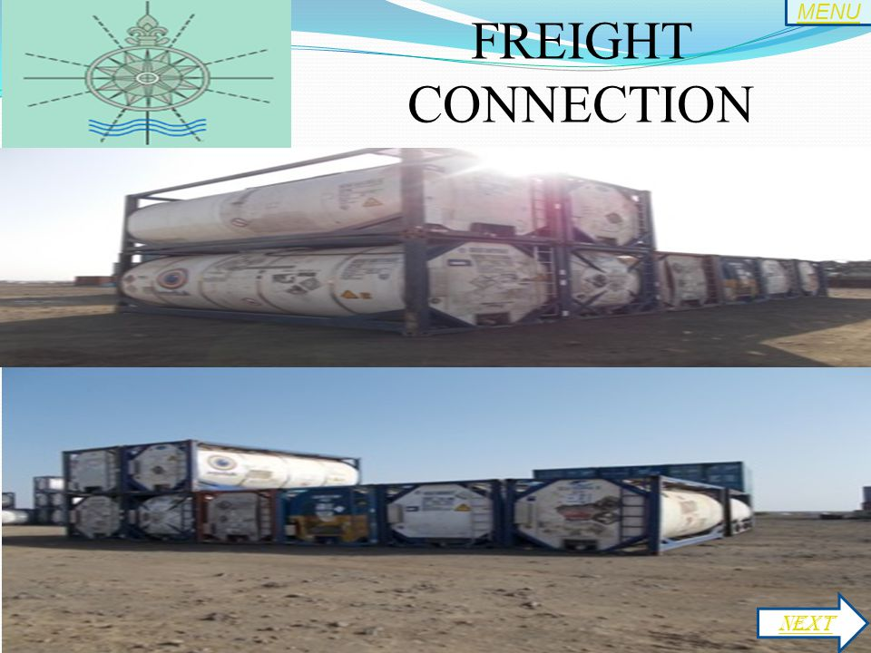 FREIGHT CONNECTION NEXT MENU