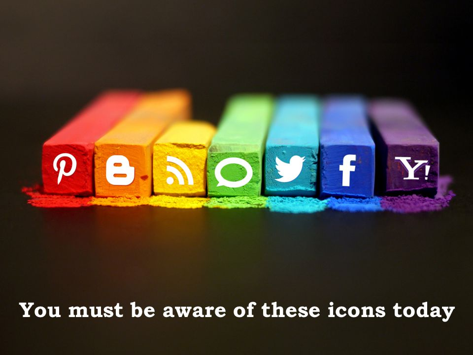You must be aware of these icons today