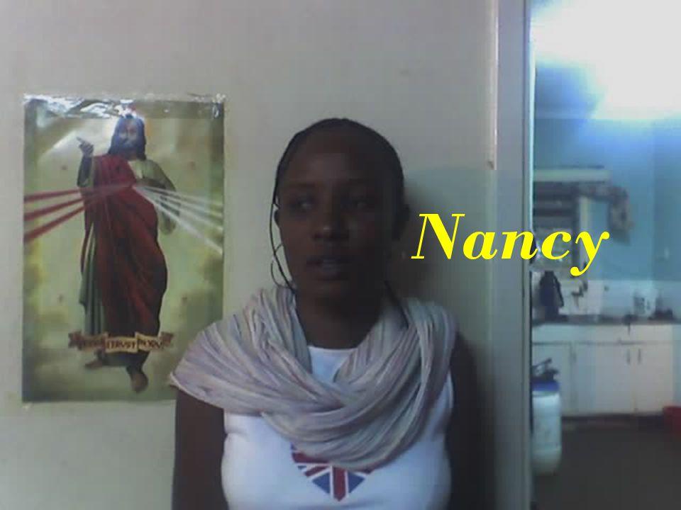 My cousin Nancy