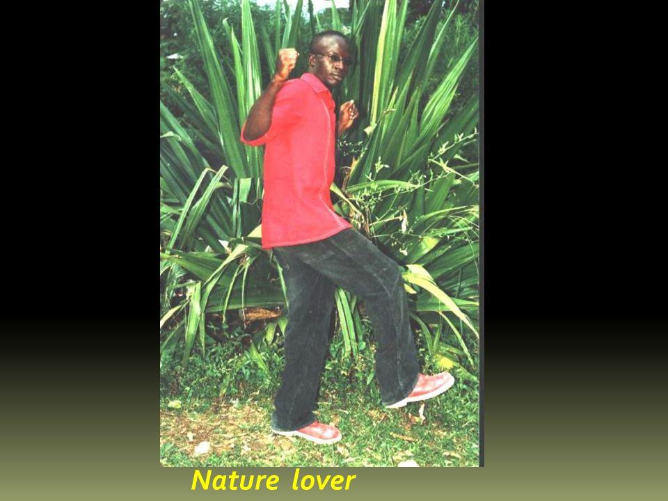 I love enjoying nature