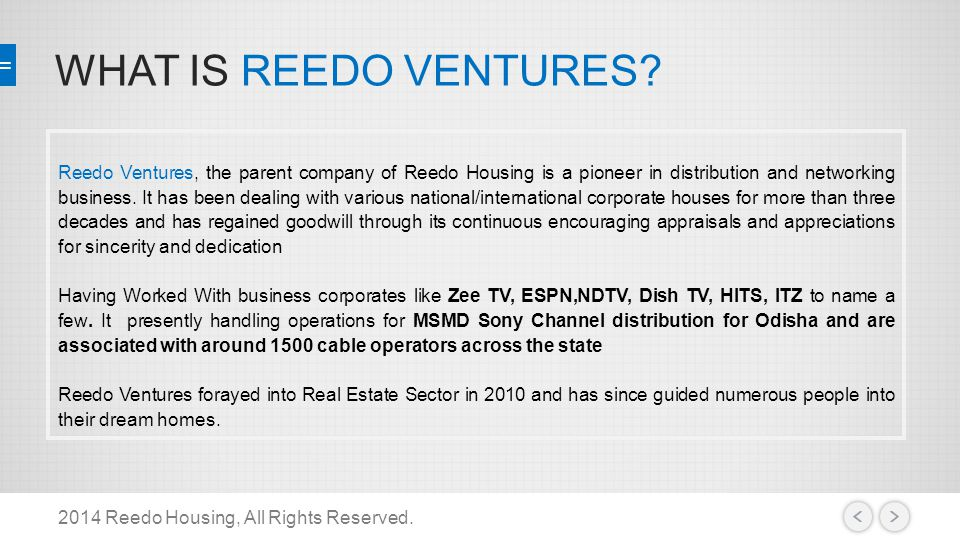 2014 Reedo Housing, All Rights Reserved.