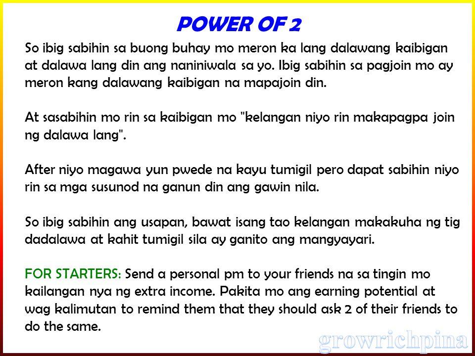 So ibig sabihin sa buong buhay mo meron ka lang dalawang kaibigan at dalawa lang din ang naniniwala sa yo.