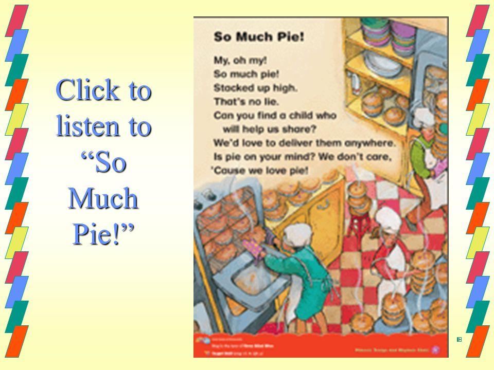 "Click to listen to ""So Much Pie!"""