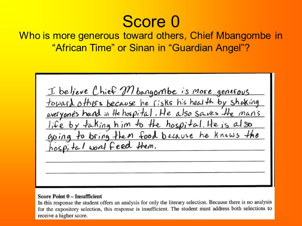 Score 0 Who is more generous toward others, Chief Mbangombe in African Time or Sinan in Guardian Angel