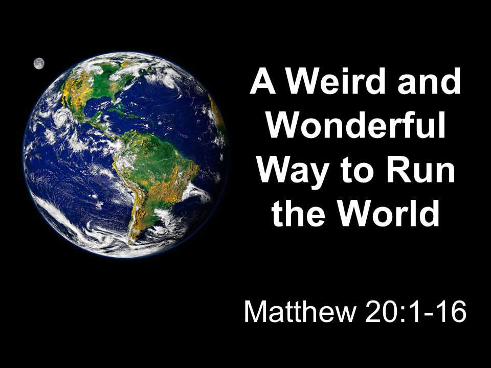 Matthew 7:24 When they received it, they began to grumble against the landowner. Matthew 20:11