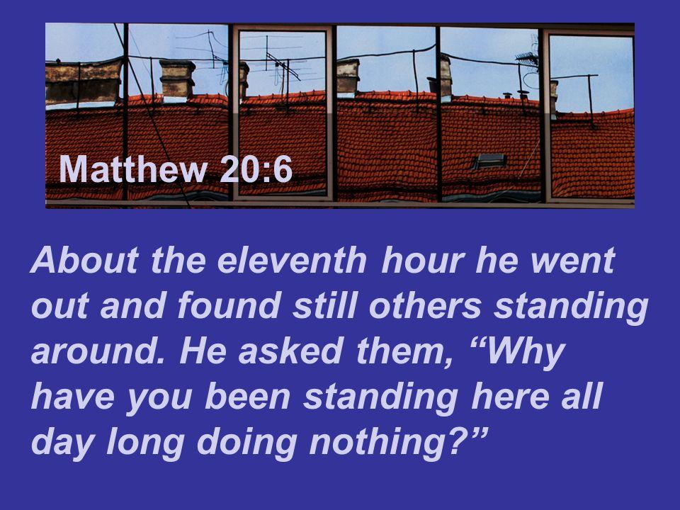 A Weird and Wonderful Way to Run the World Matthew 20:1-16