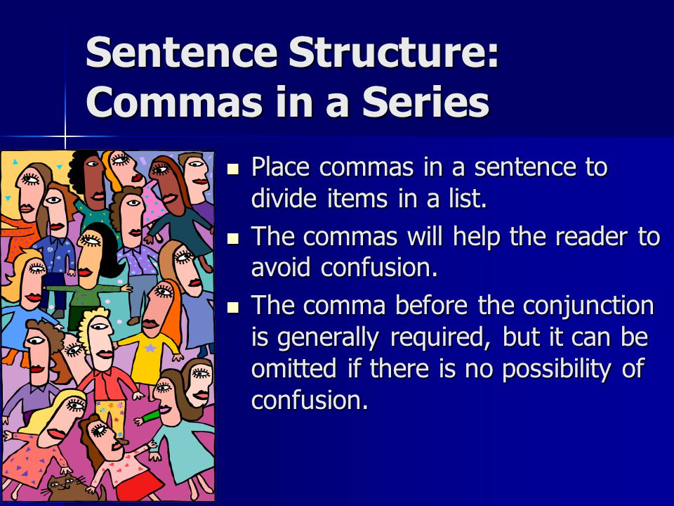 Would you place commas in the following sentences.