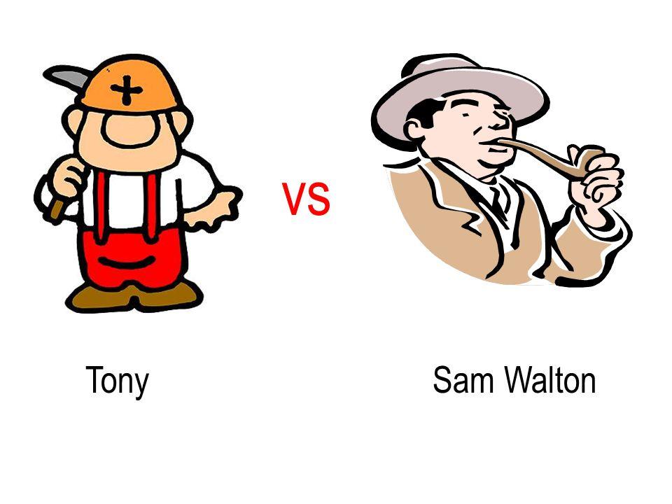 TonySam Walton vs