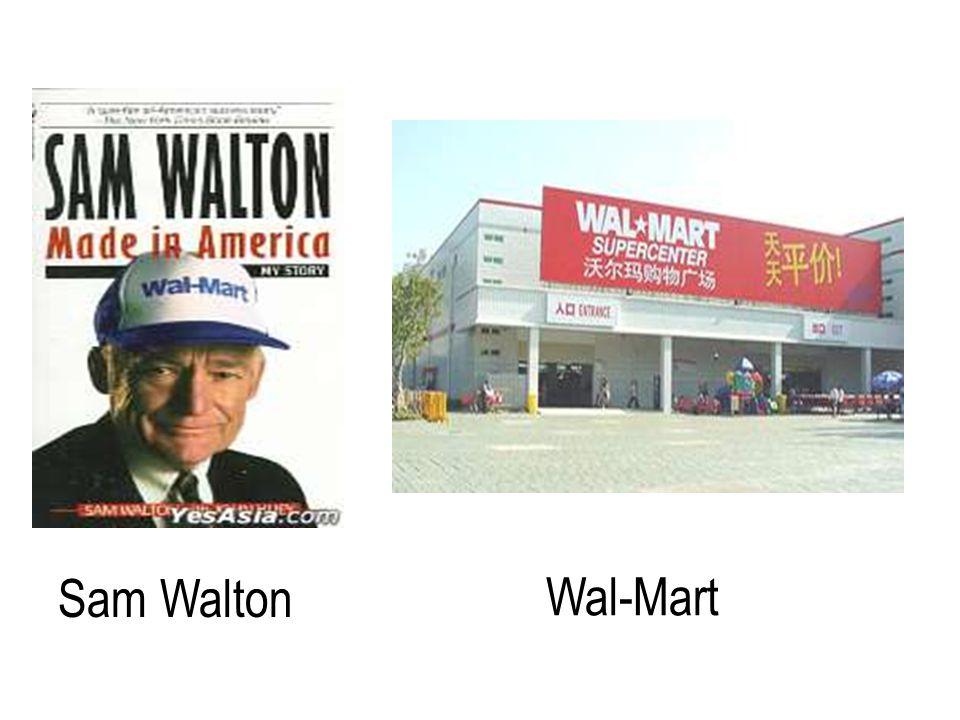Sam Walton Wal-Mart