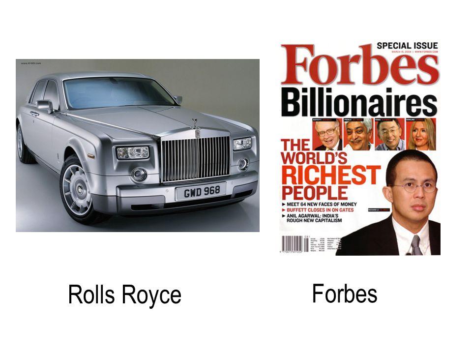 Rolls Royce Forbes