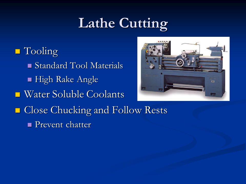 Lathe Tool Bit Terminology