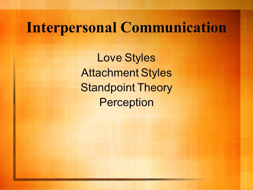 Interpersonal Comm.