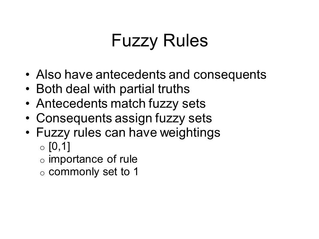 Fuzzy Composition For Set A For Set B For Set C