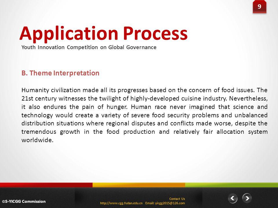 Application Process 9 9 B.