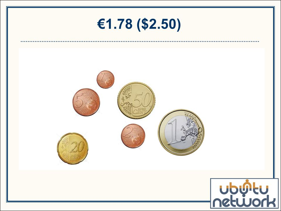 €1.78 ($2.50)