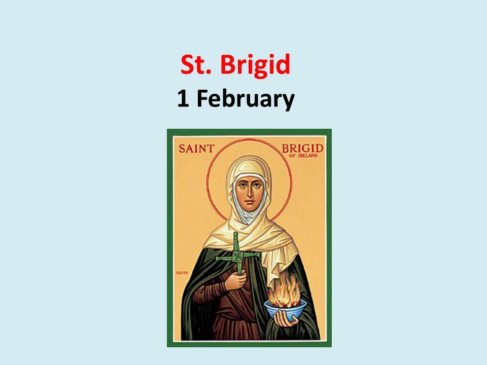 St. Brigid 1 February