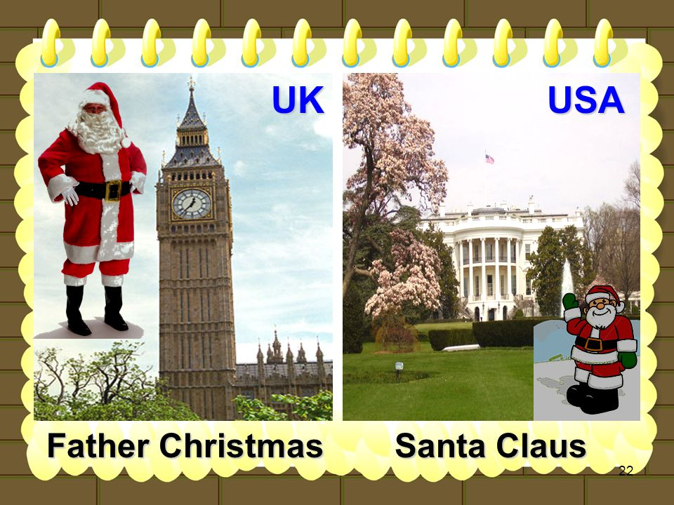 22 UKUSA Father Christmas Santa Claus