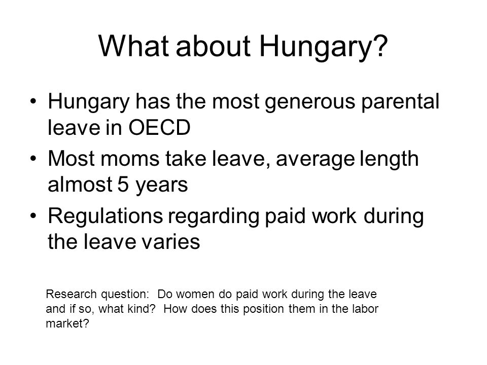What about Hungary.