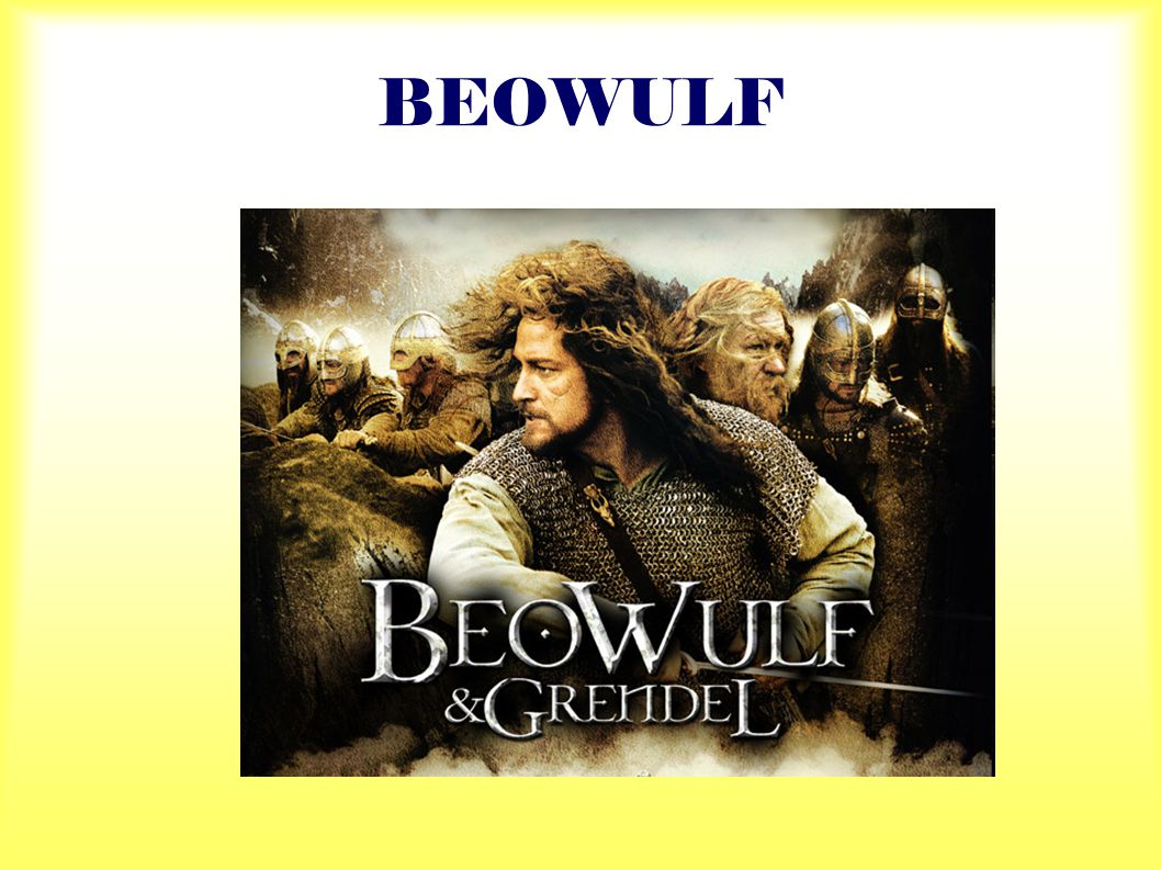  The poem tells about the deeds of an epic hero, called Beowulf, and also about the values and features of Anglo-Saxon society.