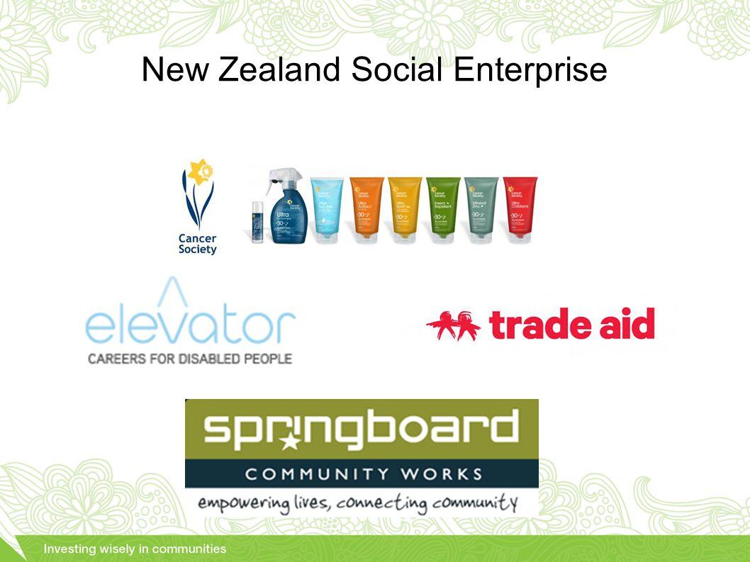 New Zealand Social Enterprise