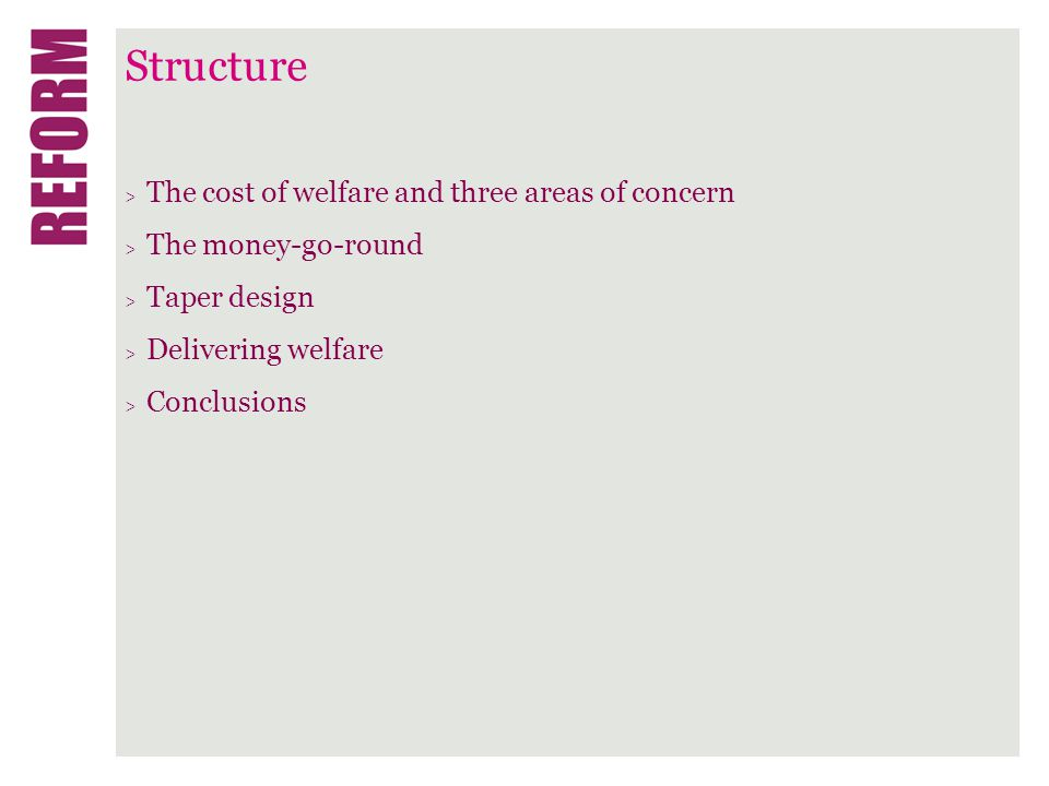 The cost of welfare > The government spends more on welfare than anything else.