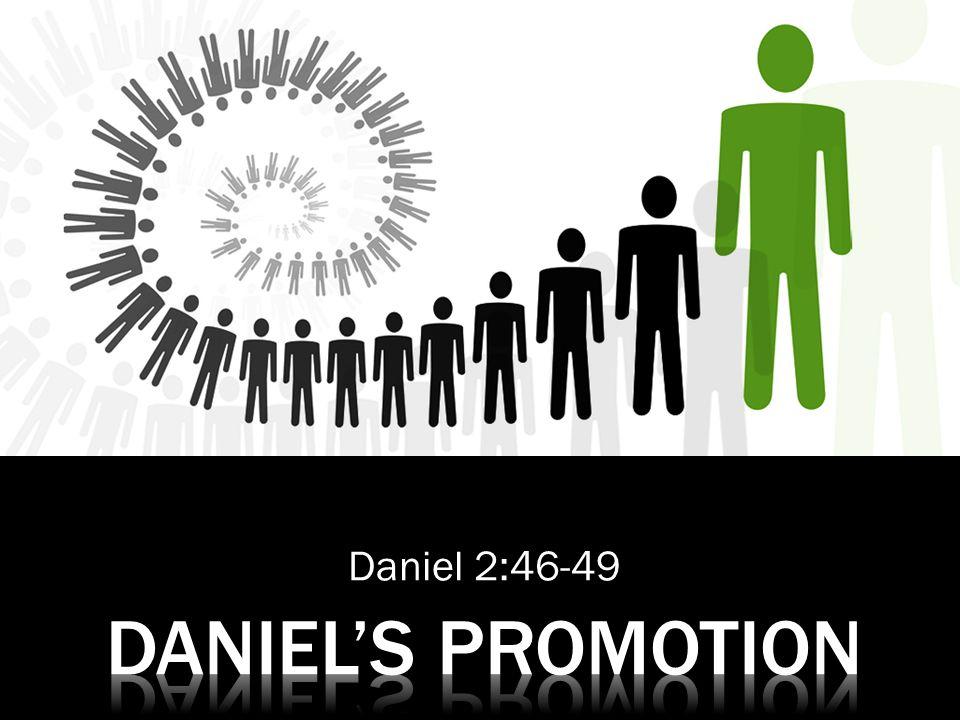 Daniel 2:46-49